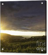 Sunset Over Skaneateles Acrylic Print