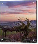 Sunset Over Sonoma Coast Acrylic Print