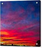 Sunset Over Swansea Tasmania Acrylic Print