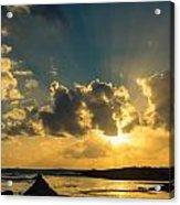 Sunset Over The Ocean Iv Acrylic Print