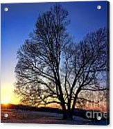 Sunset Over Valley Forge Acrylic Print