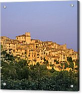 Sunset Over Vieux Nice - Old Town - France Acrylic Print