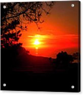 Sunset Pacifica Acrylic Print