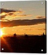 Sunset Panorama Acrylic Print