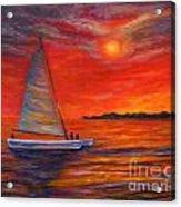 Sunset Passion Acrylic Print