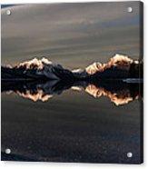 Sunset Peaks Acrylic Print