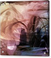 Sunset Pond Acrylic Print