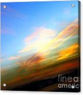 Sunset Reflections - Abstract Acrylic Print