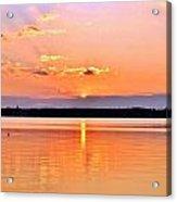 Sunset Reflections Acrylic Print