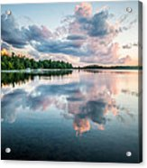 Sunset Relections Acrylic Print