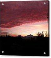 Sunset Rich Acrylic Print