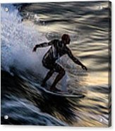 Sunset Ride 2 Acrylic Print