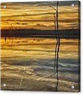 Sunset Riverlands West Alton Mo Dsc03317 Acrylic Print
