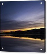 Sunset Riverscape Acrylic Print