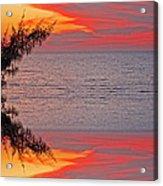 Sunset Seranade Acrylic Print