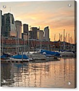 Buenos Aires Sunset Acrylic Print
