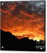 Sunset Splendor Acrylic Print