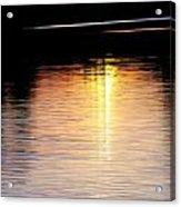 Sunset Streaks Acrylic Print