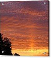 Sunset Sunburst Acrylic Print