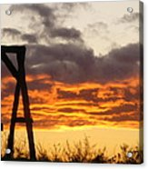 Sunset Swing Acrylic Print