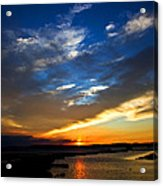 Sunset  Acrylic Print by Tim Buisman