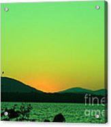 Sunset View  Acrylic Print
