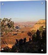 Sunset Vigil Grand Canyon Acrylic Print