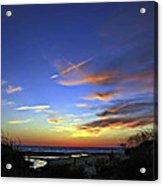 Sunset X Acrylic Print