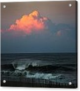 Sunseting Clouds Acrylic Print