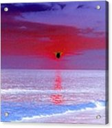Sunsets On The Water - Photopower 01 Acrylic Print