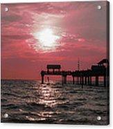 Sunsetting On The Gulf Acrylic Print