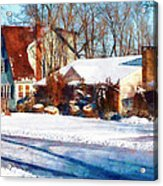 Sunshine After The Snow Acrylic Print