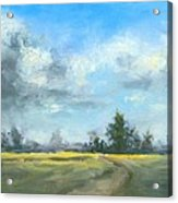 Sunshine And Clouds Acrylic Print