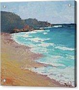 Sunshine Beach And Lions Head Noosa Heads Queensland Acrylic Print