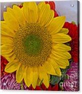 Sunshine Bouquet Acrylic Print