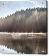 Sunshine Lake Acrylic Print