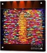 Sunshine Magic - Abstract Oil Painting Original Metallic Gold Textured Modern Contemporary Art Acrylic Print