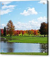 Sunshine On A Country Estate Acrylic Print