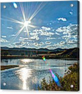 Sunshine On The Missouri Acrylic Print