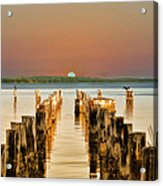 Sunshine State Sunset Acrylic Print