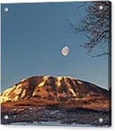 Sunshine Super Moon Acrylic Print