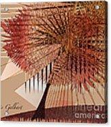 Sunshine Tree Acrylic Print