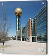 Sunsphere Knoxville Tn Acrylic Print