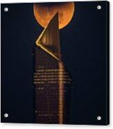 Super Blue Blood Moon Acrylic Print