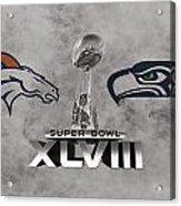 Super Bowl Xlvlll Acrylic Print