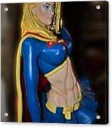 Super Girl Acrylic Print