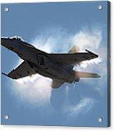 Super Hornet Shockwave Acrylic Print
