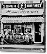 Super Market Acrylic Print
