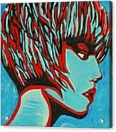 Super Mod 16 Acrylic Print by Michael Henzel