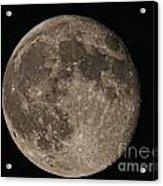 Super Moon 3626 August 2014 Acrylic Print